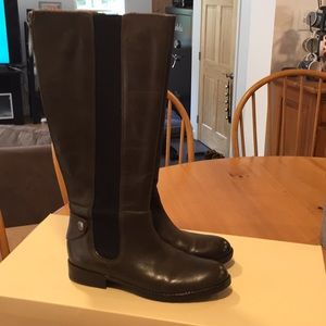 Franco Sarto zip back tall boots